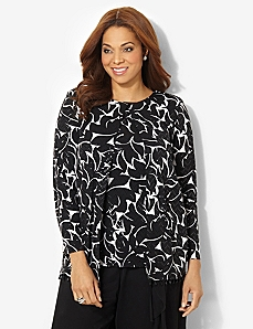 Shimmer Sequin Duet Top
