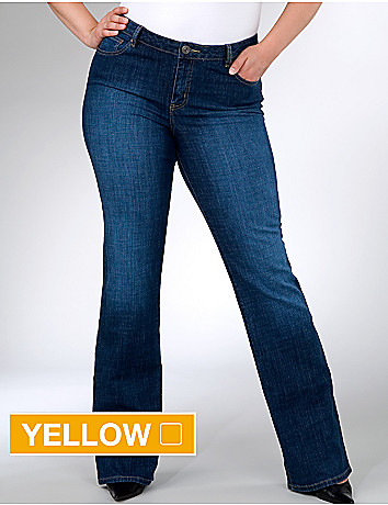 Plus size Original Right Fit stretch bootcut jeans