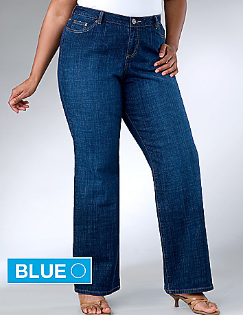 Right Fit stretch bootcut jean by Lane Bryant