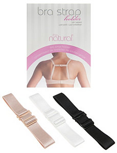 Bra strap holder three piece set