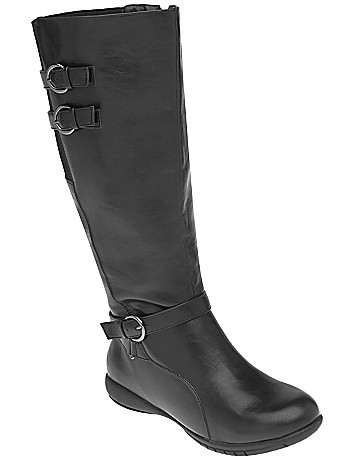 3 buckle riding boot by Lane Bryant