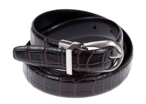 Reversible croc belt