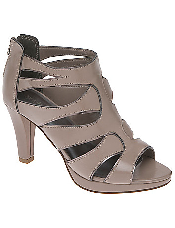Cut out peep toe heel by Lane Bryant