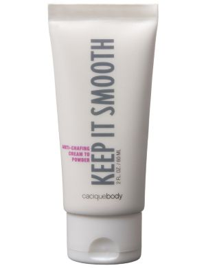 Keep It Smooth anti-chafing cream to powder