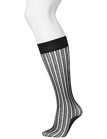 Fishnet trouser socks by Lane Bryant