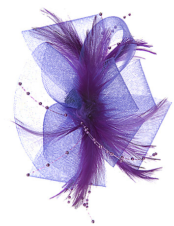 Tulle & feather spray pin by Lane Bryant