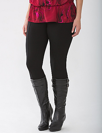 Plus Size Lane Collection Ponte Jegging