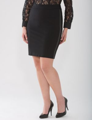 Lane Collection tuxedo skirt