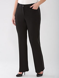Lane Collection ponte bootcut pant by Lane Bryant
