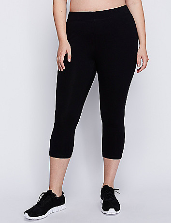 Full figure active capri legging
