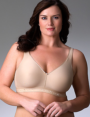 Full figure no wire bra