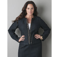 Women's Plus Size Denim Jackets