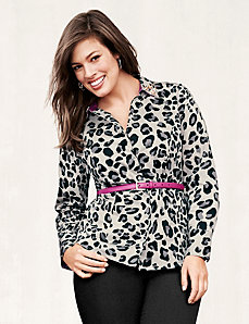 The Perfect Shirt with embellished collar by LANE BRYANT