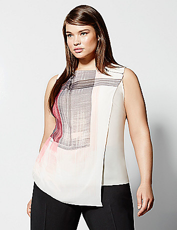6th & Lane overlay tunic