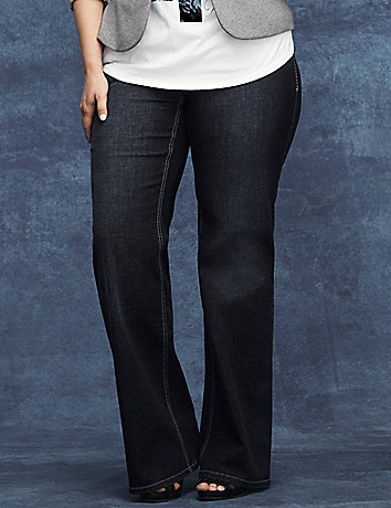 Genius Fit? flared trouser jean