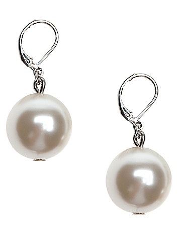 Large bauble earrings