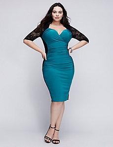 Valentina illusion dress by Kiyonna