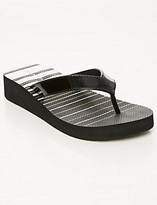 Wedge flip flop