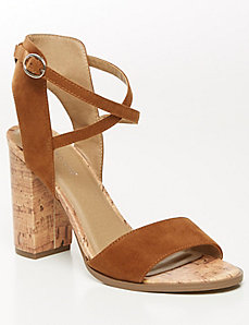Cork Heel City Sandal
