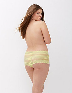 Geo Lace Cheeky Panty