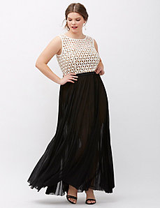 Cutout Bodice Gown by ABS Allen Schwartz