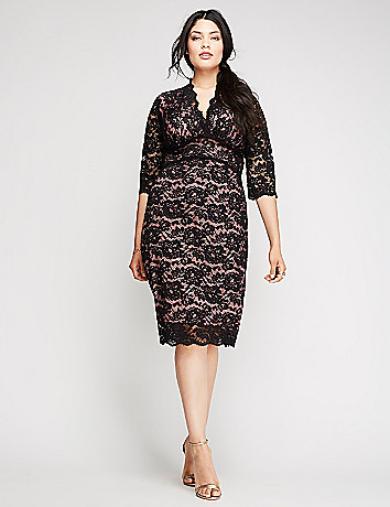 Plus size special occasion party dress