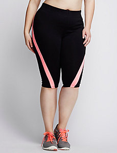 Spliced Signature Stretch Knee Legging