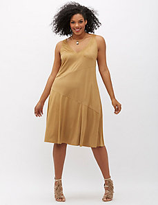 6th & Lane Faux Suede Dress