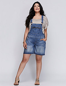 Denim Short Overalls