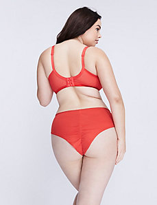 Charmer Ruched-Back Cheeky Panty