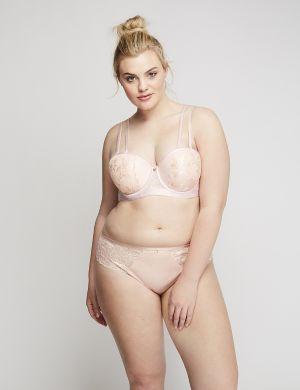 Lace Strappy-Back Cheeky Panty