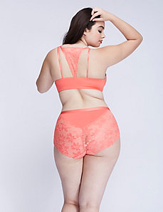 Lace-Back Full Brief Panty
