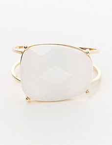Large Stone Hinge Bracelet