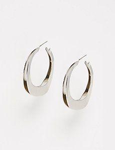 Double Wavy Hoop Earrings