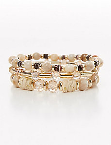 3-Row Stretch Bracelet