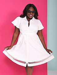 Shirtdress by Christian Siriano