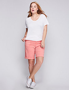 Washed Bermuda Short