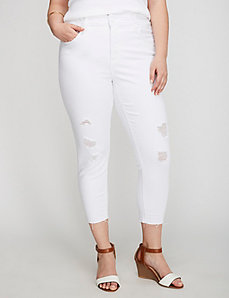 Skinny Denim Crop by Melissa McCarthy Seven7
