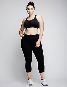Low-Impact Unlined Convertible No-Wire Sport Bra