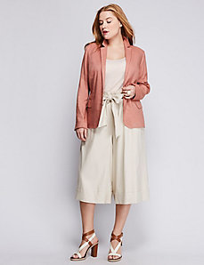 Stretch Linen Blazer