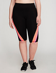 Signature Stretch Colorblock Active Knee Legging