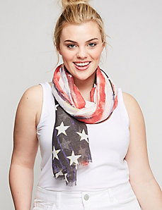 Americana Flag Scarf