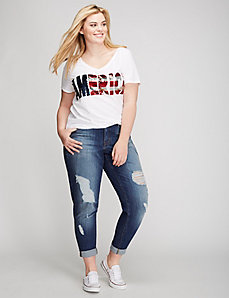 Sequin America Graphic Tee