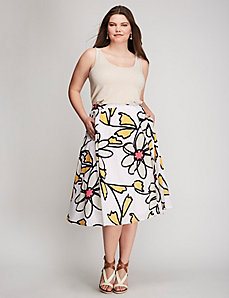 Daisy Circle Skirt