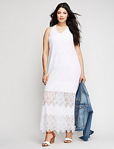 Lace Maxi Dress