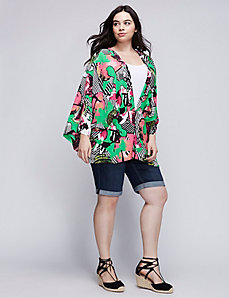 Blouson Kimono Cover-Up by Melissa McCarthy Seven7