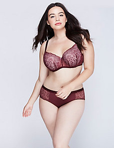 Lace Lightly Lined Smooth Balconette Bra