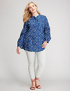 Printed Voile Top