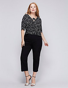 Lena Cotton Smart Stretch Crop