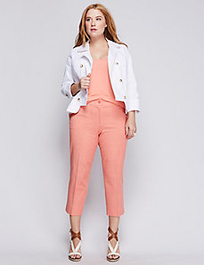 Printed Lena Cotton Smart Stretch Crop